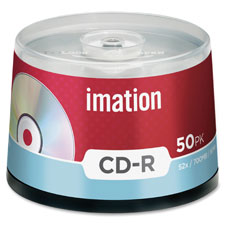 Imation Branded Surface CD-R w/ Spindles