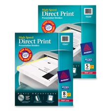 Avery Direct Print High Spd Presentation Dividers
