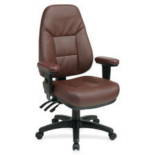 Office Star High-Back Eco-leather Chairs