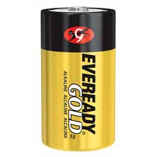 Energizer Eveready Gold Alkaline D Batteries