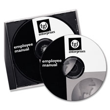 Avery Laser White Matte CD/DVD Labels