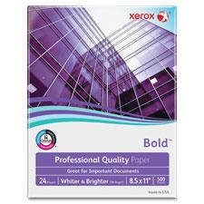 Xerox Premium Bright White 24lb Laser Paper