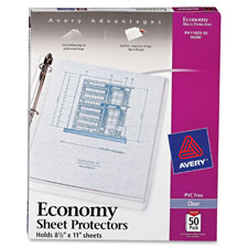 Avery Top-Loading Sheet Protector