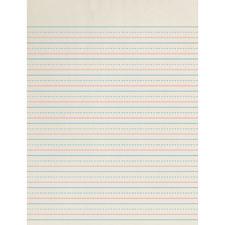 Pacon Zaner-Bloser Broken Midline Ruled Paper