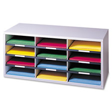 Fellowes 12-Compartment Literature Organizers
