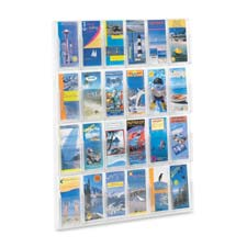 Safco 24-Pamphlet Display Rack