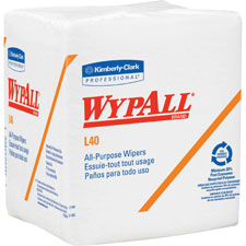 Kimberly-Clark Wypall L40 Food Service Wipes