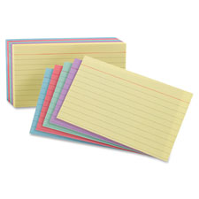 Esselte Ruled Index Cards