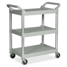 "Utility cart, 200 lb cap.,33-5/8""x18-5/8""x37-3/4"", black, sold as 1 each"