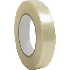"Filament tape, 3"" core, 3/4""x60 yards, sold as 1 roll"