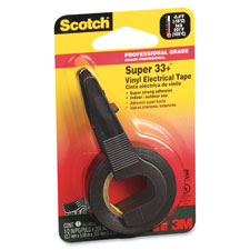 "Electrical tape, plastic, 1/2""x200"", black, sold as 1 roll"