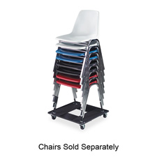Safco Heavy-Duty Steel Stacking Chair Cart