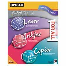 Apollo All-Purpose Transparency Film