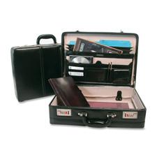 Bond Street Leather Expander Attache Cases