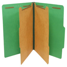 SJ Paper Recycled Standard Classification Folders