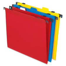 Esselte Pendaflex 2-In-1 Poly Hanging/File Folders