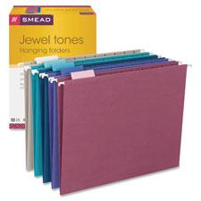 Smead Designer Colored Hanging File Folders