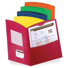 Esselte Contour Two Pocket Folders