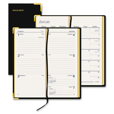 At-A-Glance Bonded Lthr Wkly/Mthly Small Pkt Diary