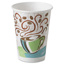 Perfect touch hot cup, wise size, 8 oz, 25/pk, multi, sold as 1 package, 20 package per package