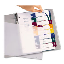 Avery Ready Index Translcnt Table Of Cont Dividers