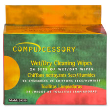 Compucessory LCD/Notebook Computer Screen Wipes