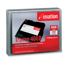 Imation Travan High-Capacity NS-40 Data Cartridge