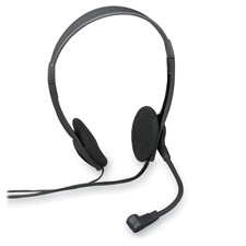 Compucessory Lt. Weight Multimedia Stereo Headsets