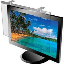 "Lcd protective filter, 17""-18 monitor, antiglare, silver, sold as 1 each"
