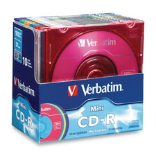 Verbatim 21 Minute Pocket CD-Rs