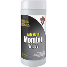 Falcon Safety Anti-Static Monitor Wipes