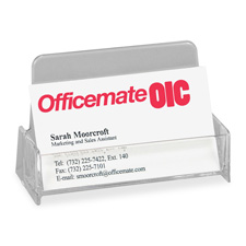Officemate Broad Base Business Card Holders