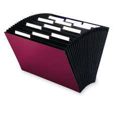 Smead 1/3 Cut Tab 12-Pocket Expanding File