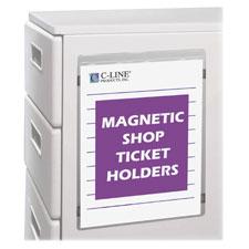C-Line Magnetic Shop Ticket Holders