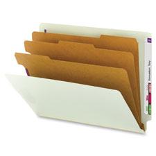 Smead End Tab Classification Folders w/3 Dividers