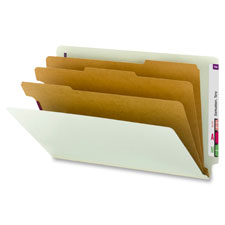 Smead End Tab Classification Folders w/2 Dividers