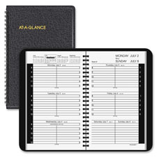 At-A-Glance 14-Month Weekly Appointment Book