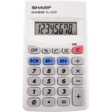 Sharp Basic Handheld Calculator