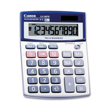 Canon 10-Digit Dual Power Desktop Calculator