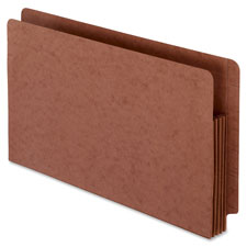 Esselte Extra Heavy Red Fibre Shelf File Pockets