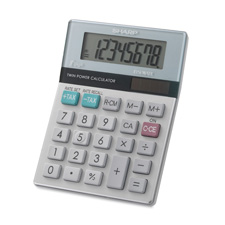 Sharp 8-Digit Mini Desktop Display Calculator