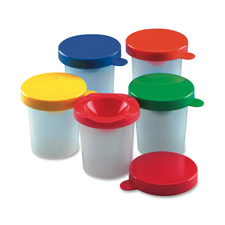 Charles Leonard Three Piece Paint Cups
