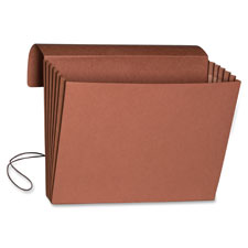 Smead Red Expanding Extra-Wide File Folder Wallets