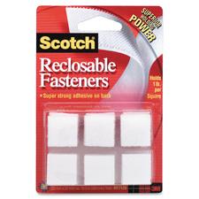 3M Reclosable Fastener Squares