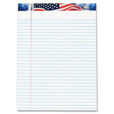 Tops American Pride Writing Tablet