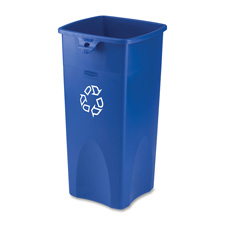 Rubbermaid Square Recycling Container
