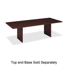 Basyx Rectangular Conference Tabletops and Bases
