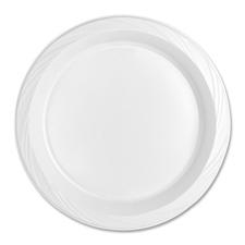 Genuine Joe 10-1/4 Plastic Plates