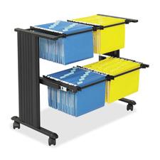 Safco Dual Width Filing Cart