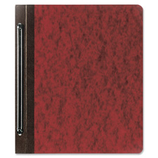 "Report cover,pressbrd,6"" cap.,8-1/2""x11"", 25/box, earth red, sold as 1 box, 100 each per box"